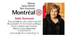 Carte Anie Samson